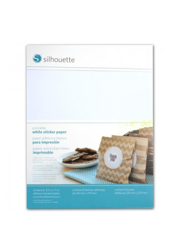 beprintbaar wit sticker papier
