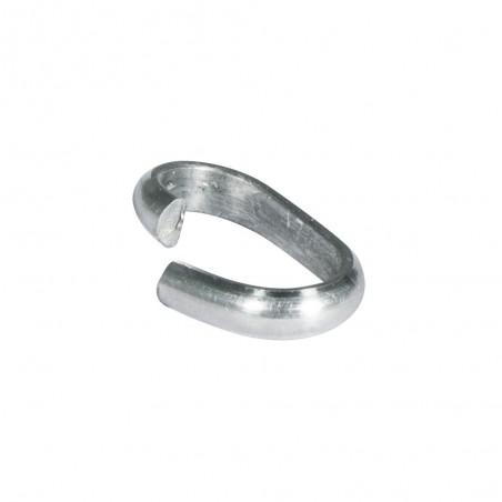 Platina brede ring