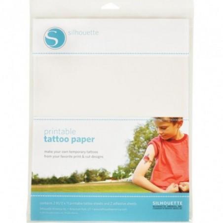 Papier voor tijdelijke tatoo's