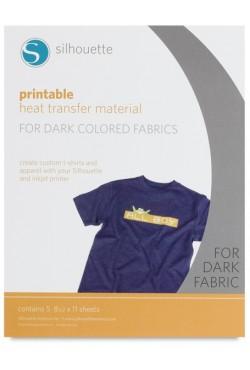 Beprintbare heat transfer donker