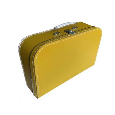 Koffertje okergeel 35cm