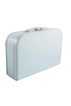 Koffertje lichtblauw 35cm
