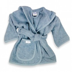 Baby Badjas - Blue/Grey
