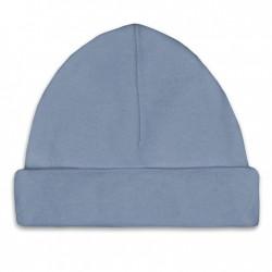 Babymutsje - Blue/Grey