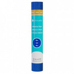Silhouette Glittervinyl - Blue