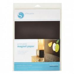 Printbaar magneet papier