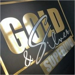 Metallic vinyl mirror GOLD