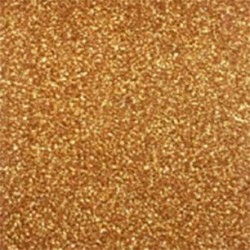 Dark Gold Glitter Flex - PF429