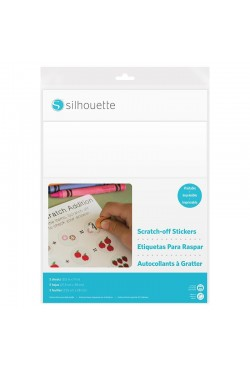 Scratch-off stickervellen beprintbaar